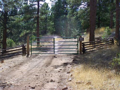Fire Road Gate
