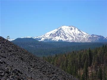 Lassen Peak from Cinder Cone