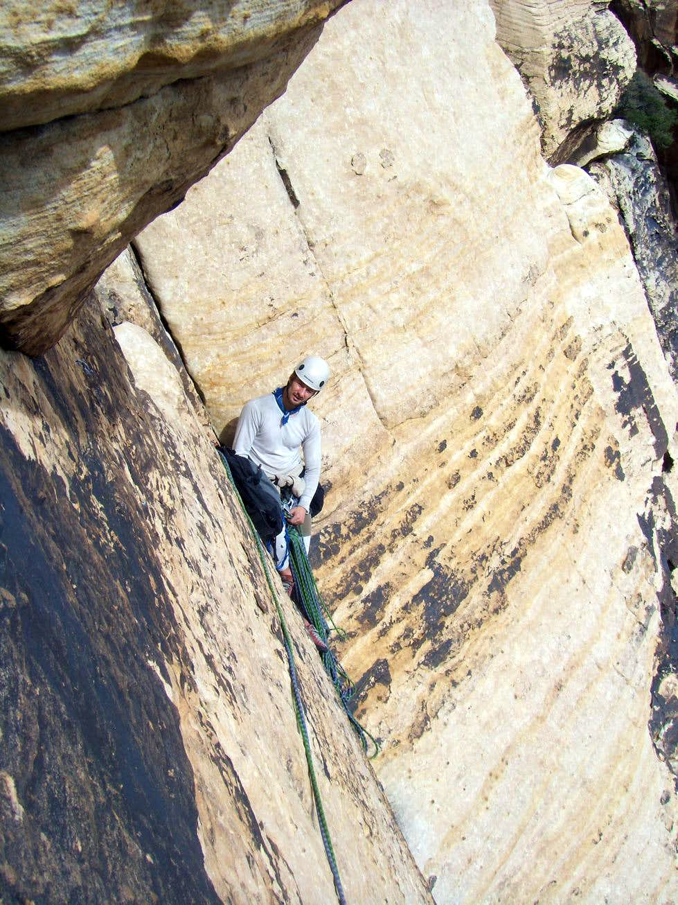 Sandstone Overcast, 5.9, 4 Pitches