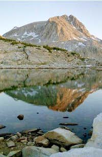 Mt. Humphreys, Muriel Lake outlet