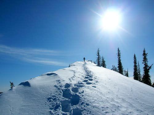 Perfect Weather on the North Ridge