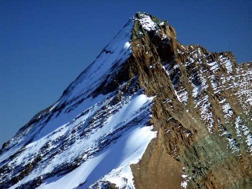 La Grivola, seen from Bioula...