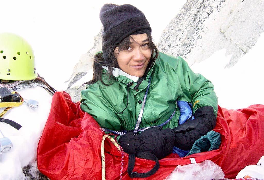 Bivouac on the Innominata Ridge
