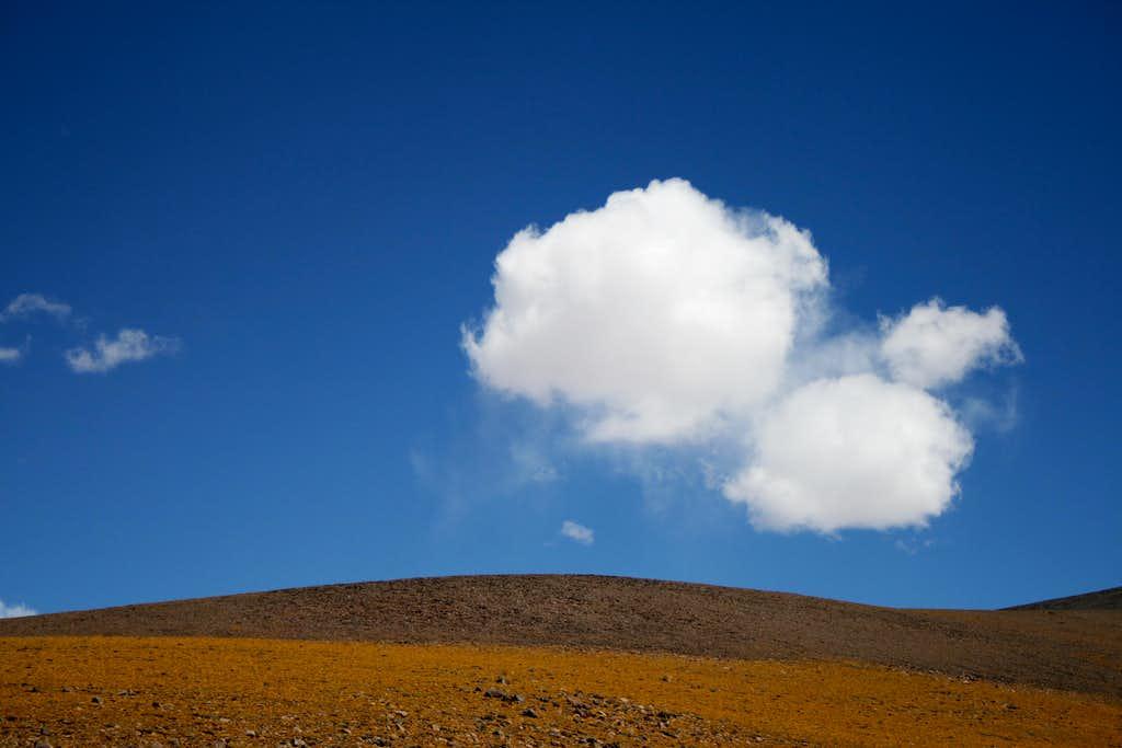 A cloud near Incahuasi