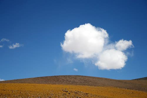 A cloud near Incahuasi