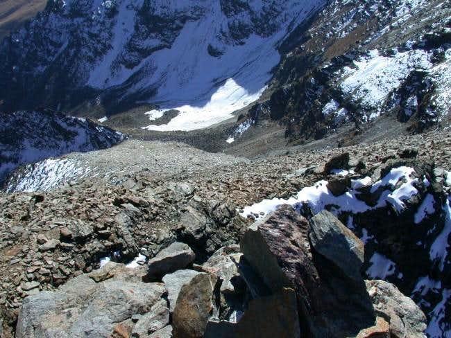 From Bioula summit. The big...