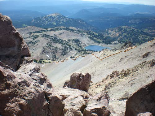 Lassen Switchbacks