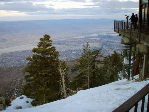 Aerial Tram Mountain Station