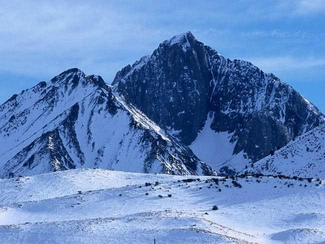 N Face of Mt Morrison,...