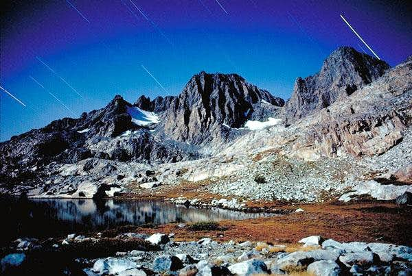 Mt. Ritter at night from...