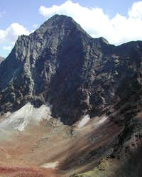 Emilius <i>3.559m </i> and Piccolo Emilius <i>3.342m</i> <br />