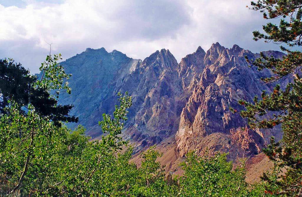 Mt. Emerson and Piute Crags