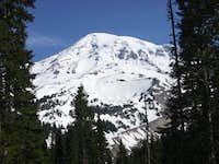 Mt. Rainier's SW face. Photo...