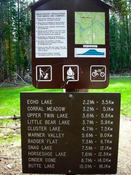 Summit Lake Ranger Station Trail Head