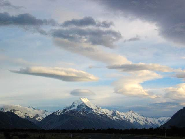Mt Cook from Glentanner, 8th...