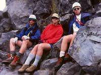 Mack, Bob & John Muir waiting...