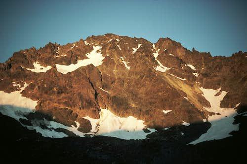 Evening light on Mt. Deception
