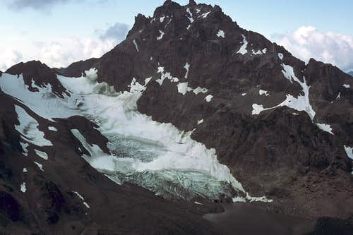 Mt. Mystery and Mystery Glacier