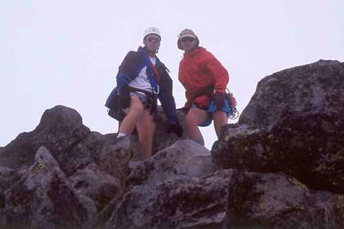 John & Bob Muir on the summit...