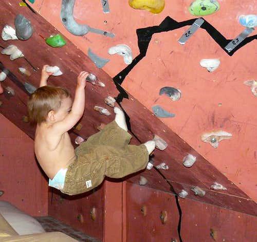 Starting Young/Climbing Hard