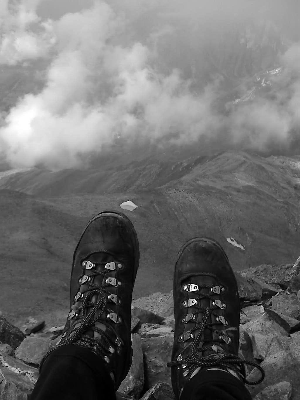 Sitting on the summit...