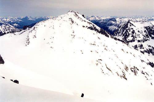 Primus Peak as seen from...