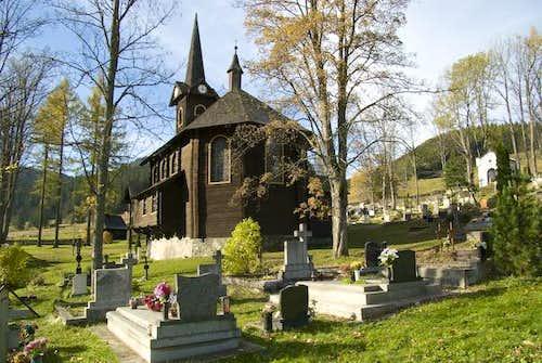 The church in Javorina