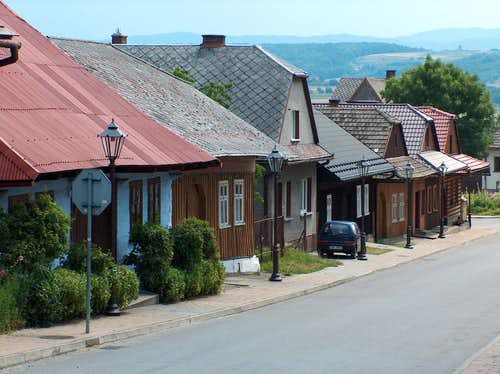 Lanckorona, traditional Polish village in the Beskides close to Cracow