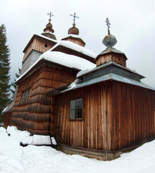 Church in Wołowiec, Beskid Niski