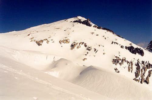 Primus Peak's gentle south...