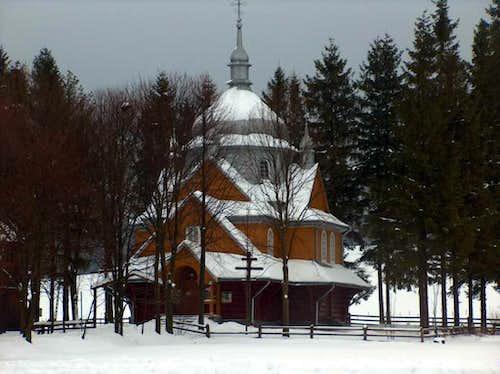 Church in Bodaki, Beskid Niski
