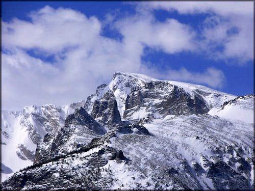 Taylor Peak from Steep Mountain