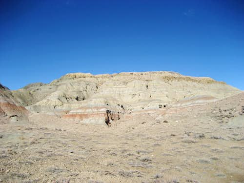 Peak 4932 - Badland Hills East