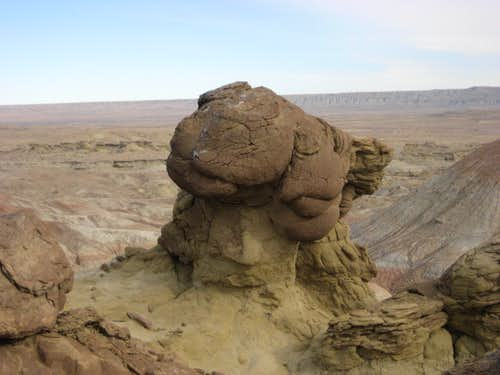 Rock Formation in Badger Basin