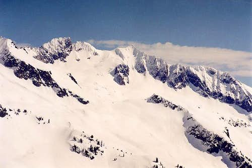 Boston and Sahale peaks from...