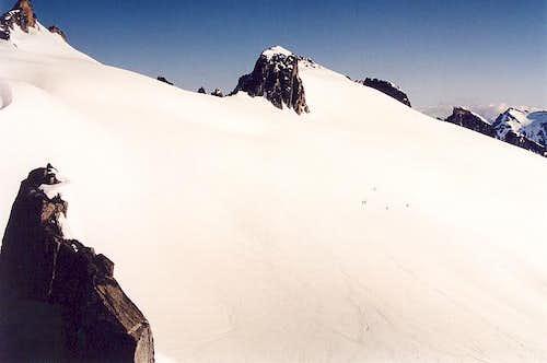 A view of the upper Klawatti...