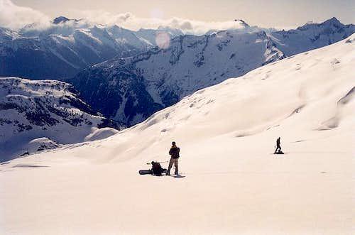 On the Klawatti Glacier...