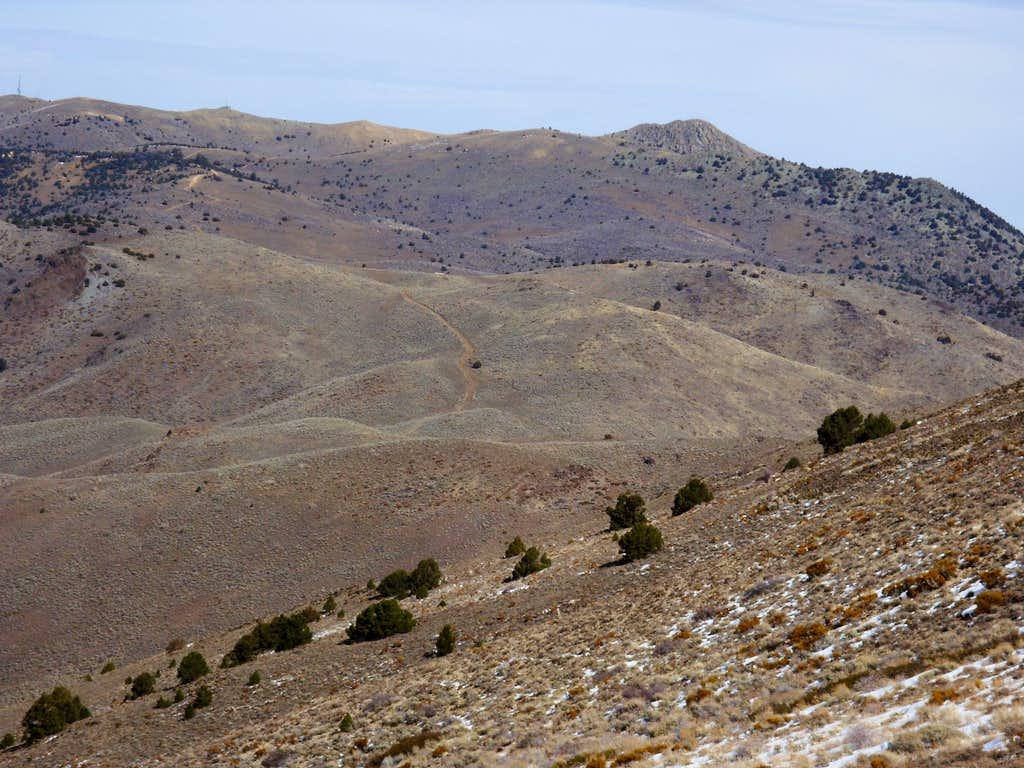Mount Davidson from McClellan Peak