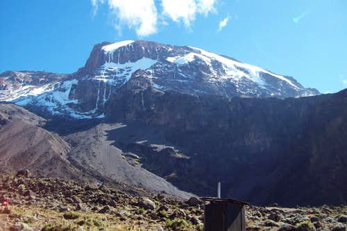 Kili from Barranco Camp