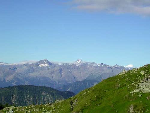 da sinistra il mont Glacier...