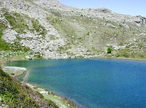 il lago Vernouille mt. 2125