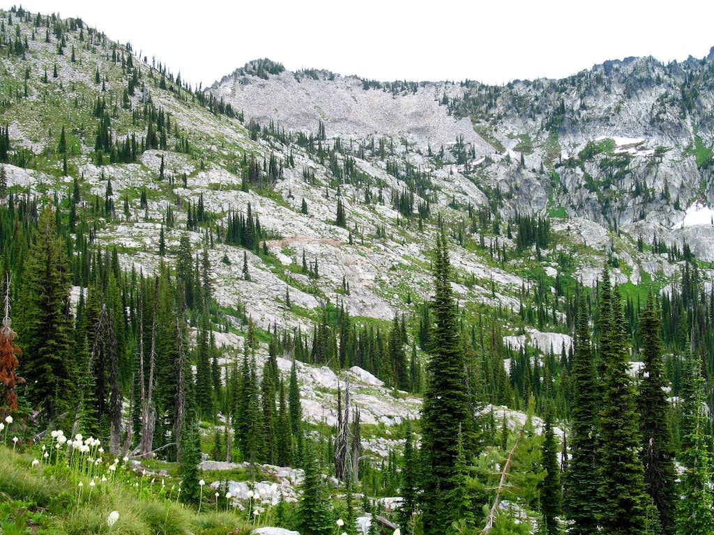 Peak 7,835 Southwest Aspect