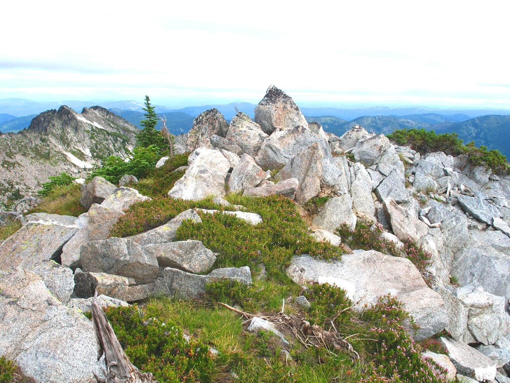 Summit of Peak 7,835
