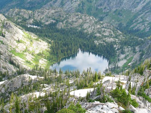 Lloyd Lake and Dishpan Lake