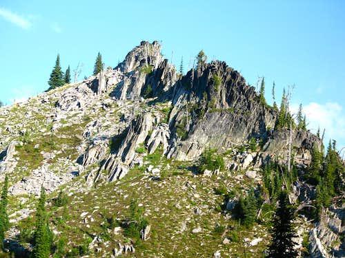 West Ridge Point, Peak 7,835