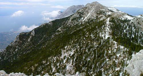 Western Biokovo
