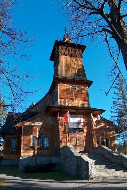 The church in Kościelisko