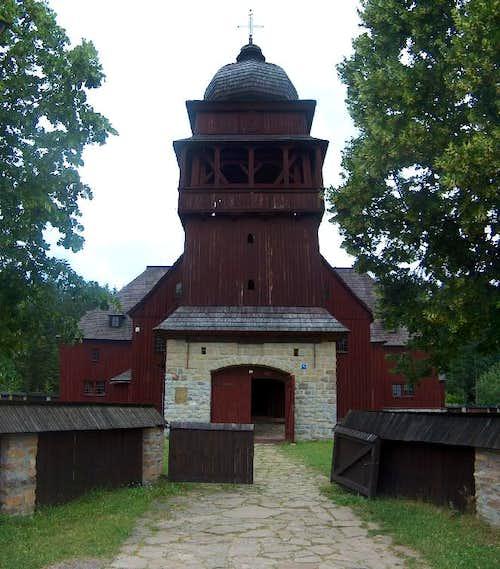 Svätý Kríž, Slovakia's largest wooden church