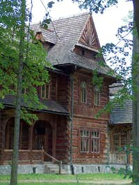 Wooden villa in Zakopane