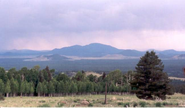 sitgreaves mountain from the...
